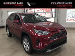 Red[Ruby Flare Pearl] 2021 Toyota RAV4 Limited Hybrid Primary Listing Photo in Sherwood Park AB