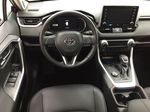 Red[Ruby Flare Pearl] 2021 Toyota RAV4 Limited Hybrid Left Front Seat Photo in Sherwood Park AB