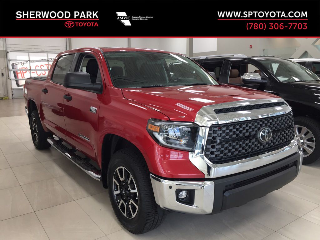 Red[Barcelona Red Metallic] 2021 Toyota Tundra TRD Off-Road