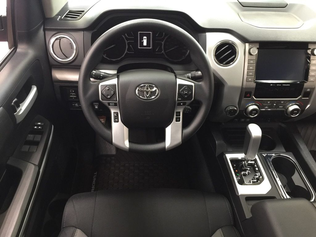Red[Barcelona Red Metallic] 2021 Toyota Tundra TRD Off-Road Left Front Seat Photo in Sherwood Park AB