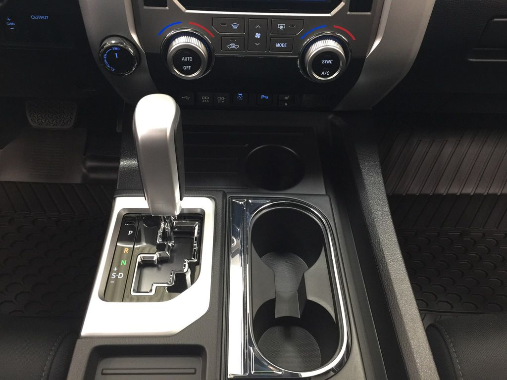 Red[Barcelona Red Metallic] 2021 Toyota Tundra TRD Off-Road Lower Dash Photo in Sherwood Park AB