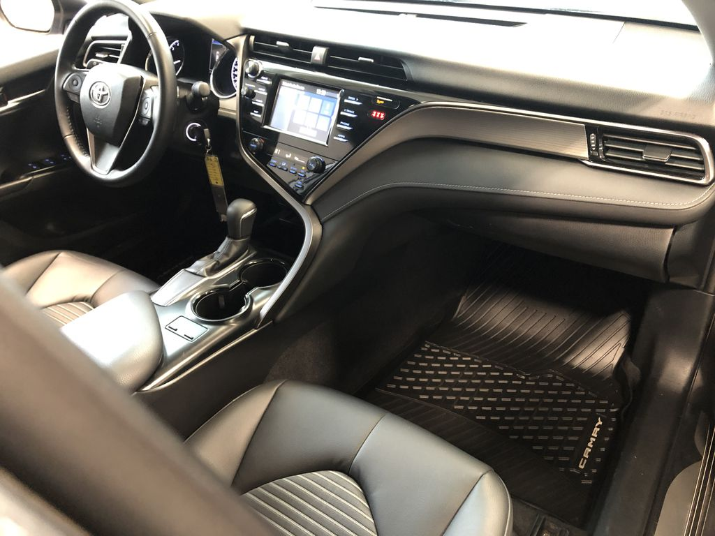 Grey 2019 Toyota Camry SE | Toyota Certified Left Front Seat Photo in Edmonton AB