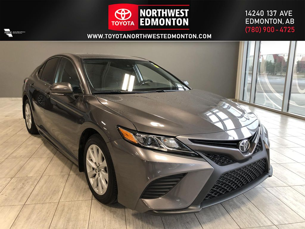 Grey 2019 Toyota Camry SE | Toyota Certified