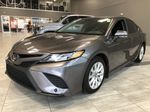 Grey 2019 Toyota Camry SE | Toyota Certified Left Side Rear Seat  Photo in Edmonton AB