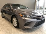 Grey 2019 Toyota Camry SE | Toyota Certified Left Front Interior Photo in Edmonton AB