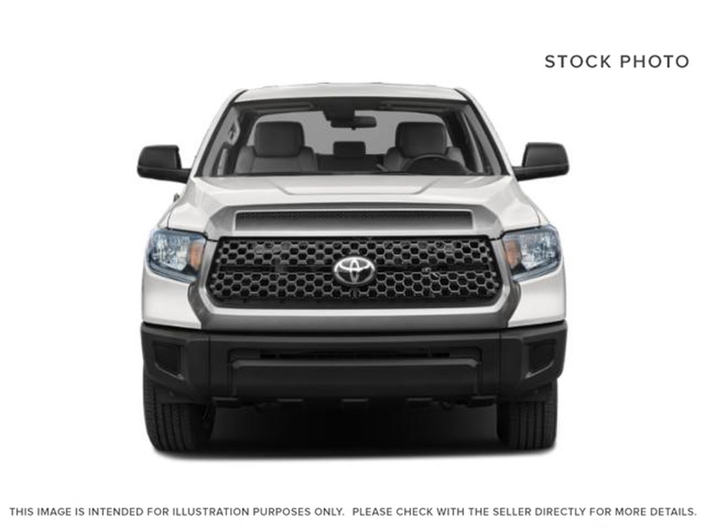 Cement Grey Metallic 2021 Toyota Tundra Double Cab TRD Off Road Front Vehicle Photo in Edmonton AB