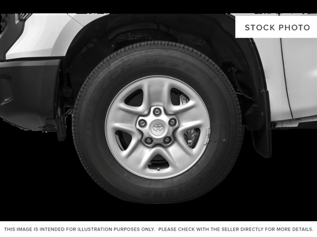 Cement Grey Metallic 2021 Toyota Tundra Double Cab TRD Off Road Left Front Rim and Tire Photo in Edmonton AB