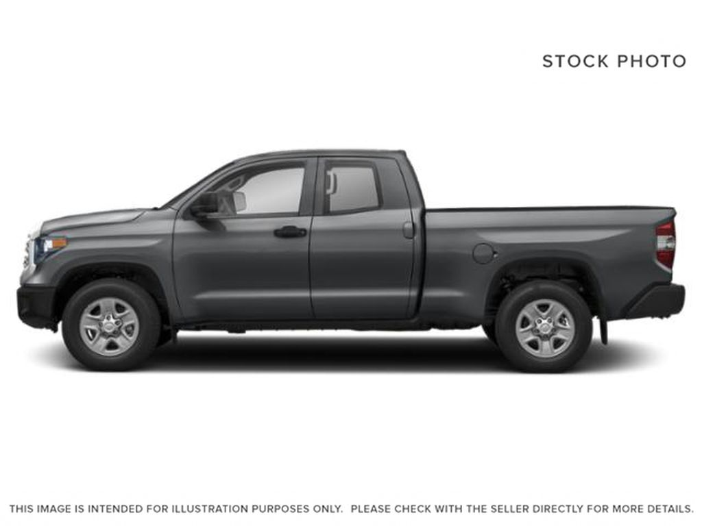 Cement Grey Metallic 2021 Toyota Tundra Double Cab TRD Off Road Left Side Photo in Edmonton AB