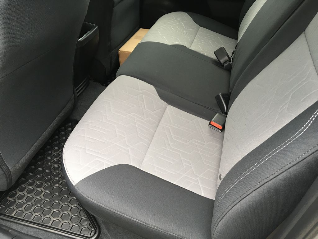 White[Super White] 2021 Toyota Tacoma TRD Off Road Right Side Rear Seat  Photo in Kelowna BC