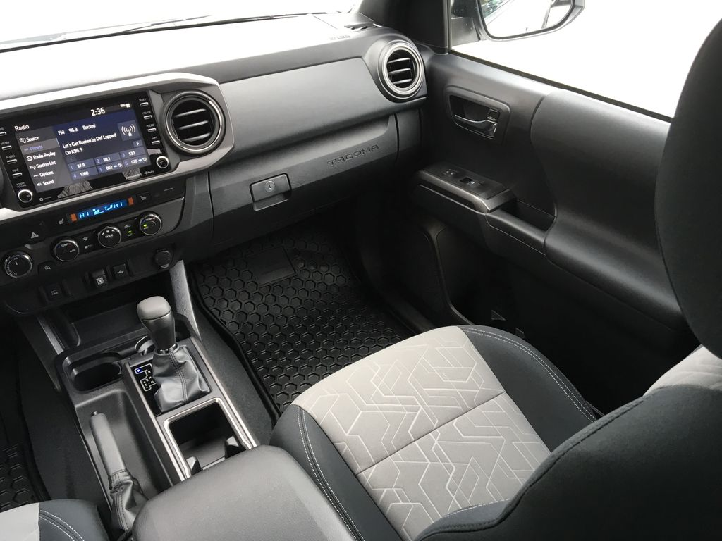 White[Super White] 2021 Toyota Tacoma TRD Off Road Right Side Front Seat  Photo in Kelowna BC