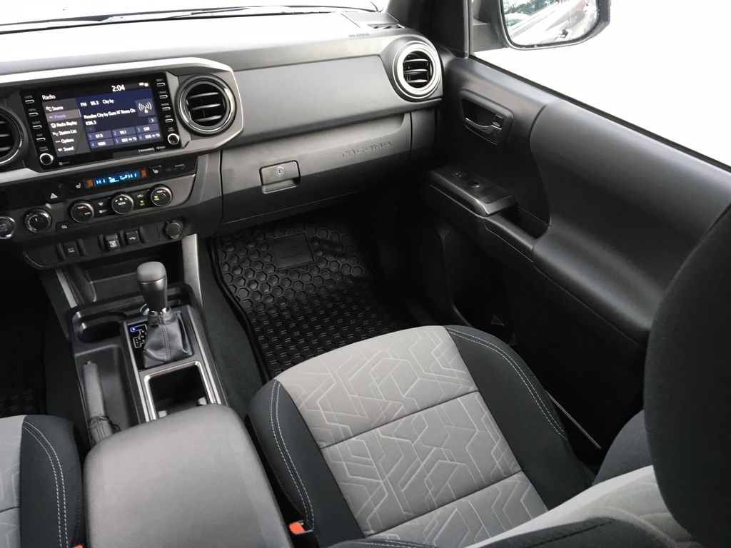 Magnetic Grey Metallic 2021 Toyota Tacoma TRD Sport Right Side Front Seat  Photo in Kelowna BC