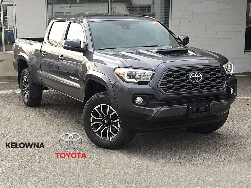 Magnetic Grey Metallic 2021 Toyota Tacoma TRD Sport