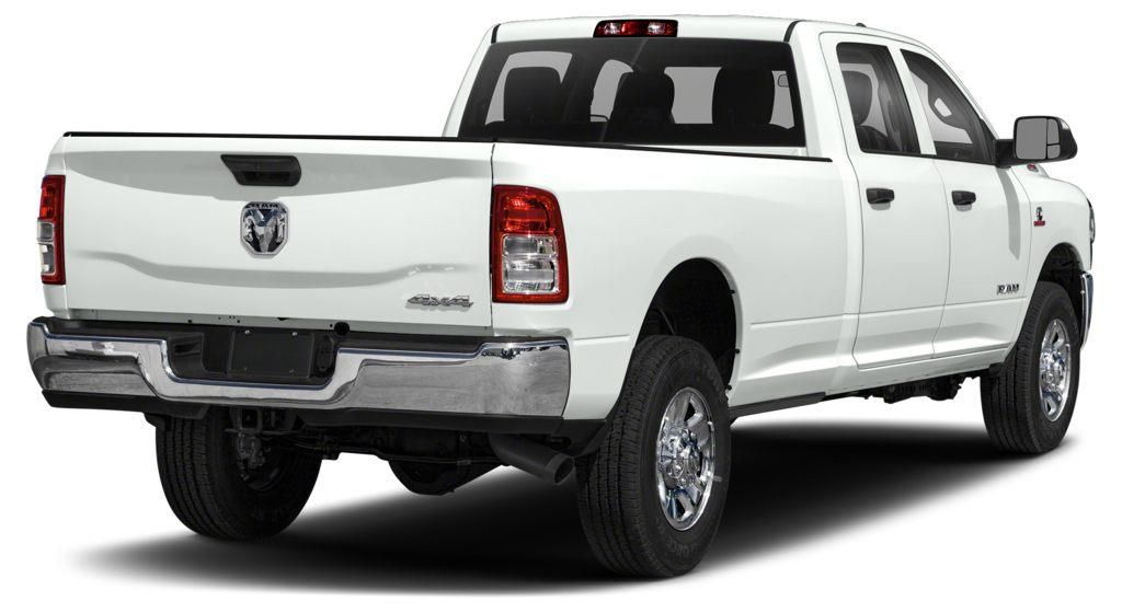 White 2020 Ram 2500 Left Front Rim and Tire Photo in Fort Macleod AB