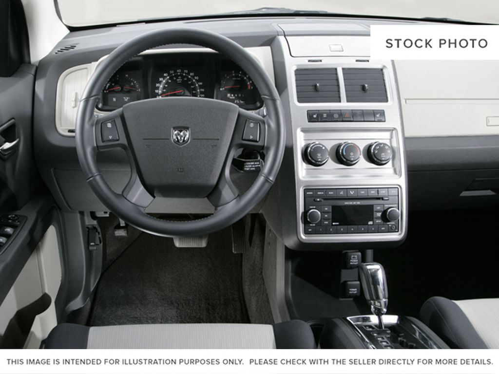 Maroon 2009 Dodge Journey Steering Wheel and Dash Photo in Medicine Hat AB