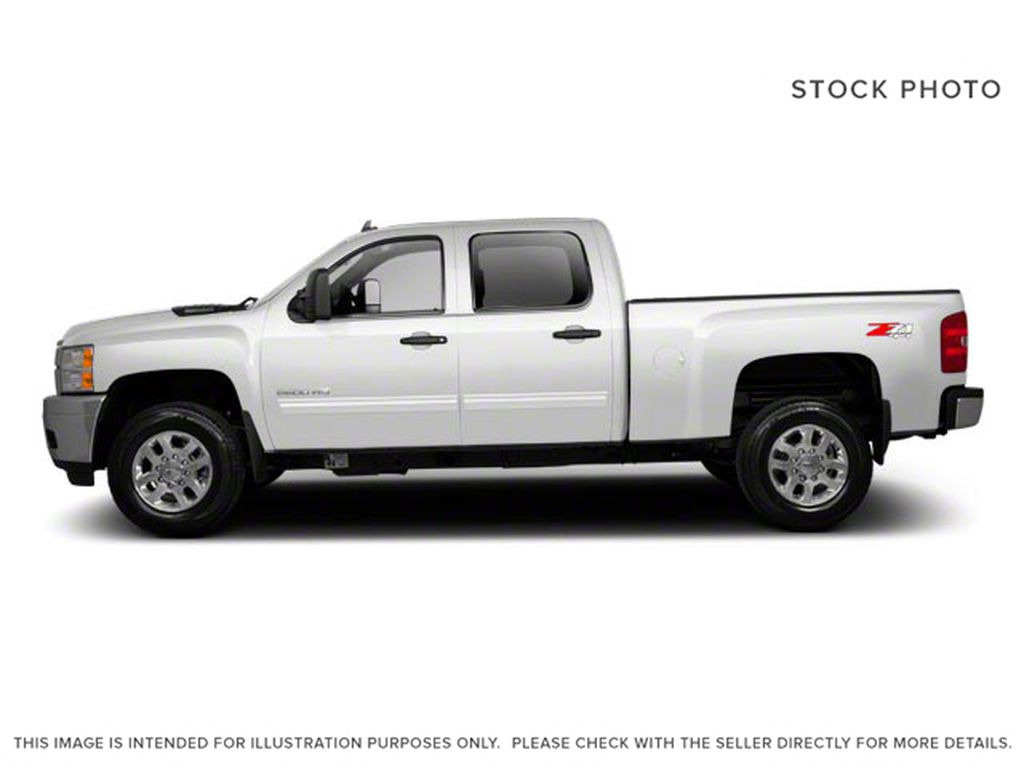 White[Summit White] 2012 Chevrolet Silverado 2500HD Left Side Photo in Fort Macleod AB