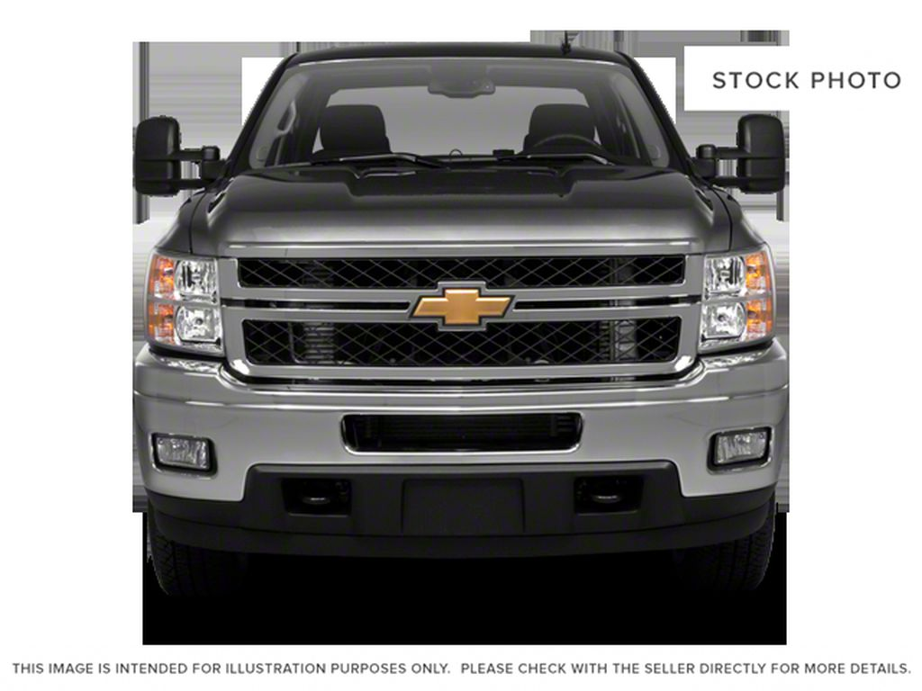 White[Summit White] 2012 Chevrolet Silverado 2500HD Front Vehicle Photo in Fort Macleod AB