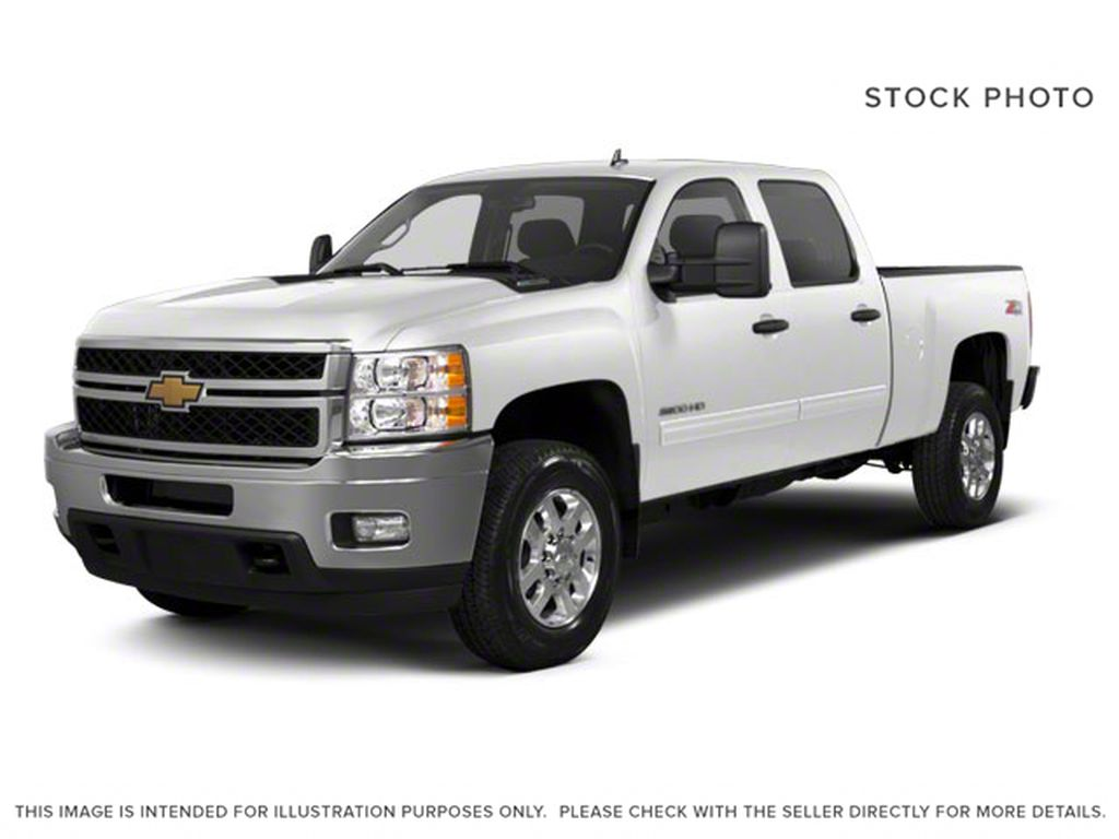 White[Summit White] 2012 Chevrolet Silverado 2500HD