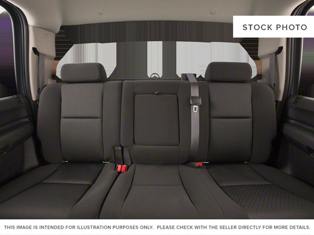 White[Summit White] 2012 Chevrolet Silverado 2500HD Left Side Rear Seat  Photo in Fort Macleod AB