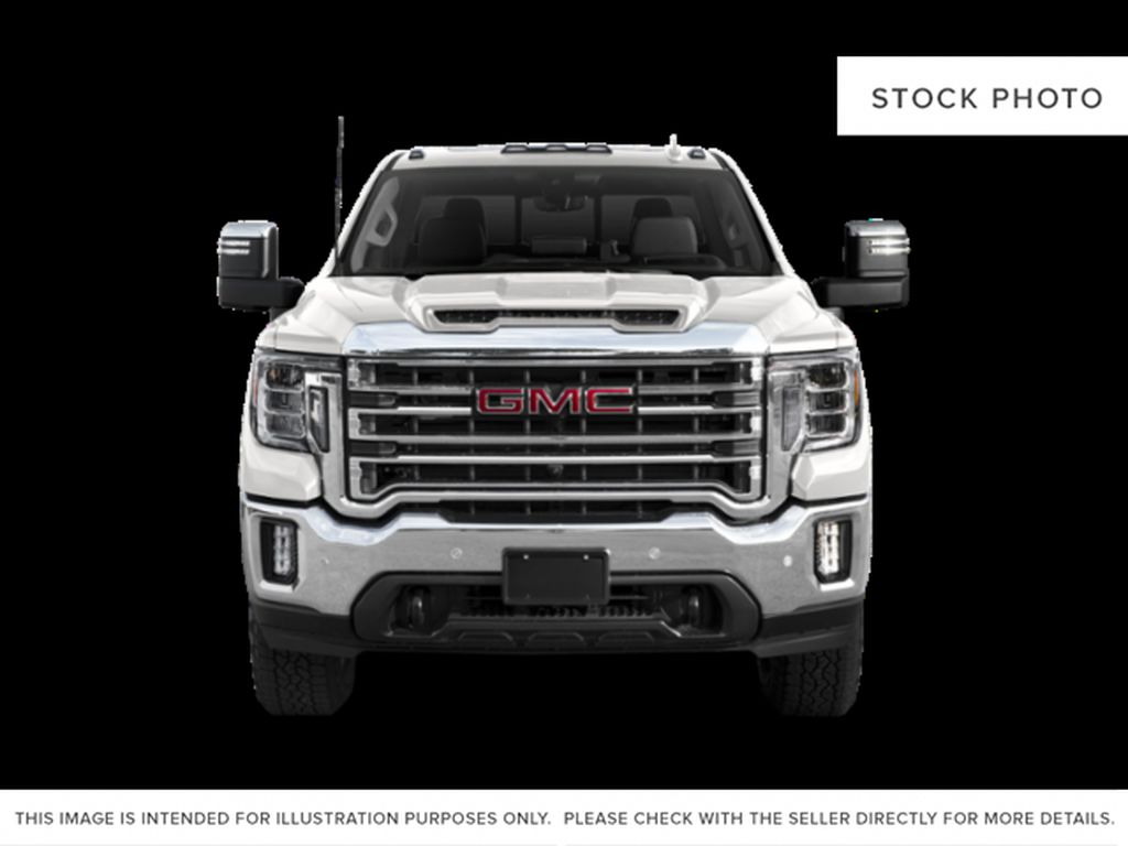White[Summit White] 2020 GMC Sierra 2500HD Front Vehicle Photo in Fort Macleod AB