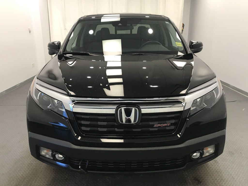 Black 2019 Honda Ridgeline Left Front Corner Photo in Lethbridge AB