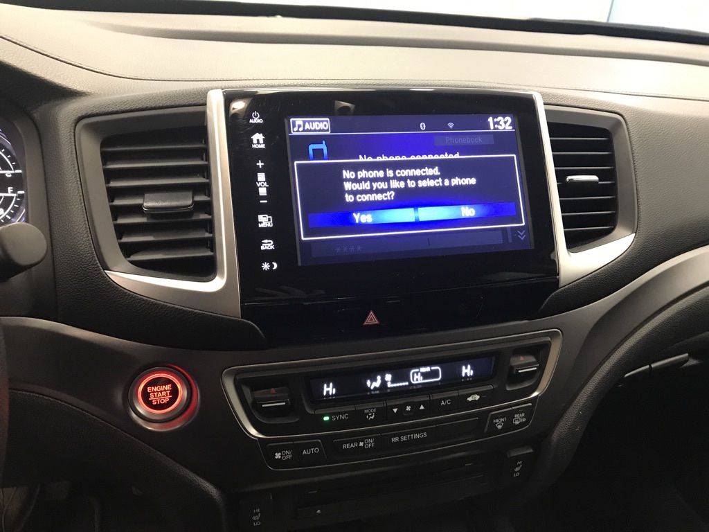 Black 2019 Honda Ridgeline Steering Wheel and Dash Photo in Lethbridge AB