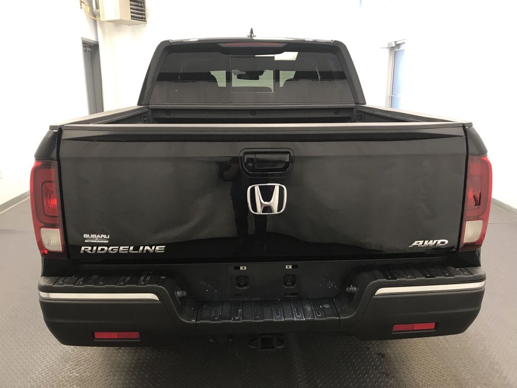 Black 2019 Honda Ridgeline Left Front Interior Photo in Lethbridge AB