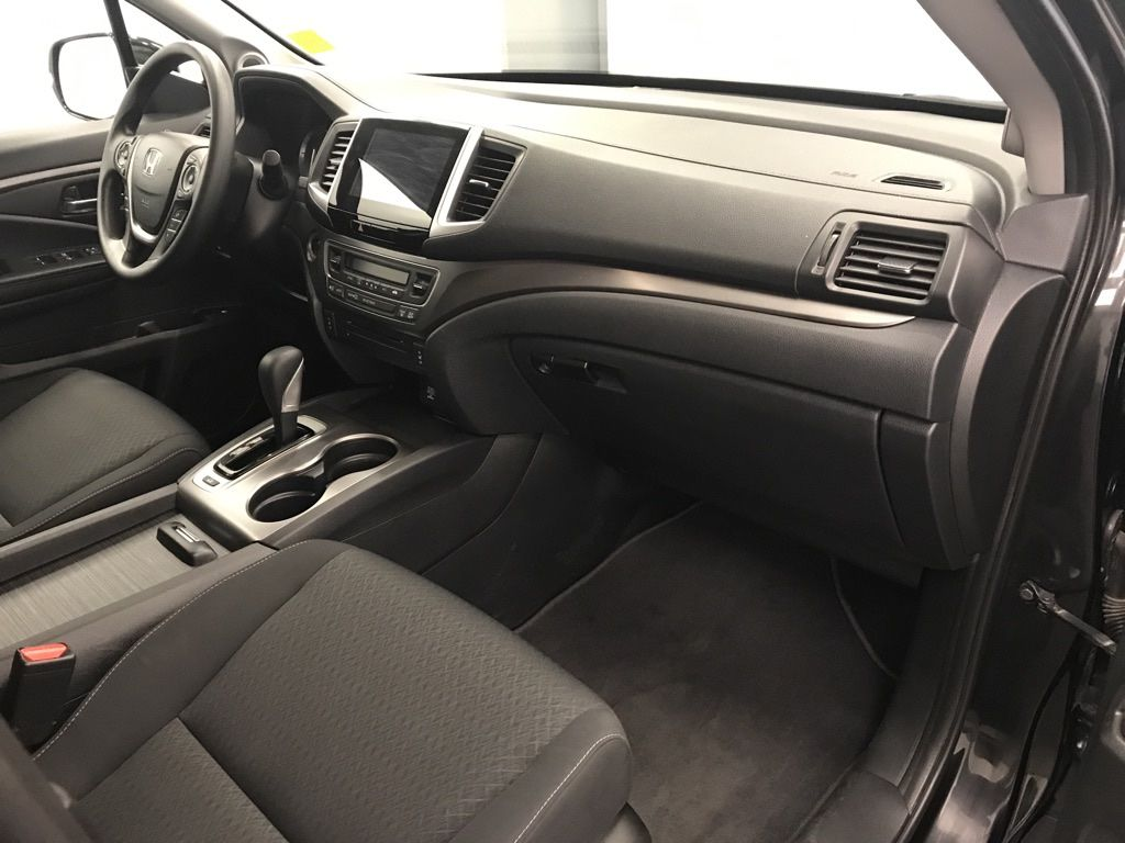 Black 2019 Honda Ridgeline Rear of Vehicle Photo in Lethbridge AB