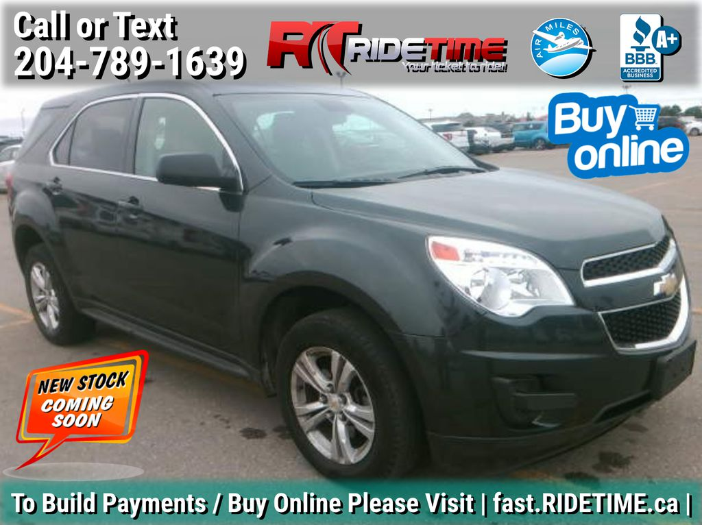 Gray[Ashen Grey Metallic] 2014 Chevrolet Equinox LS AWD - SAT Radio, Bluetooth, Alloy Wheels