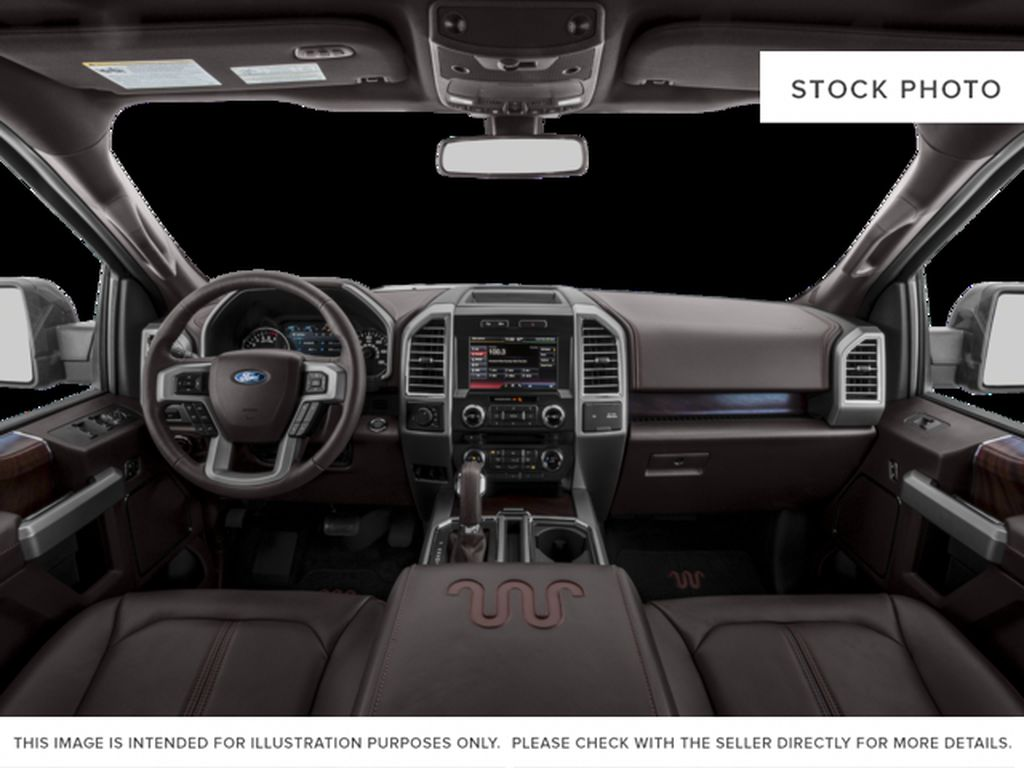 White[Oxford White] 2017 Ford F-150 Central Dash Options Photo in Dartmouth NS