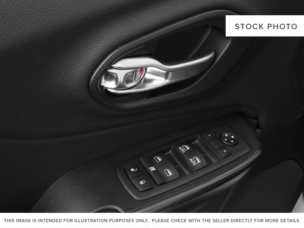 Black[Diamond Black Crystal Pearl] 2017 Jeep Cherokee  Driver's Side Door Controls Photo in Yarmouth NS