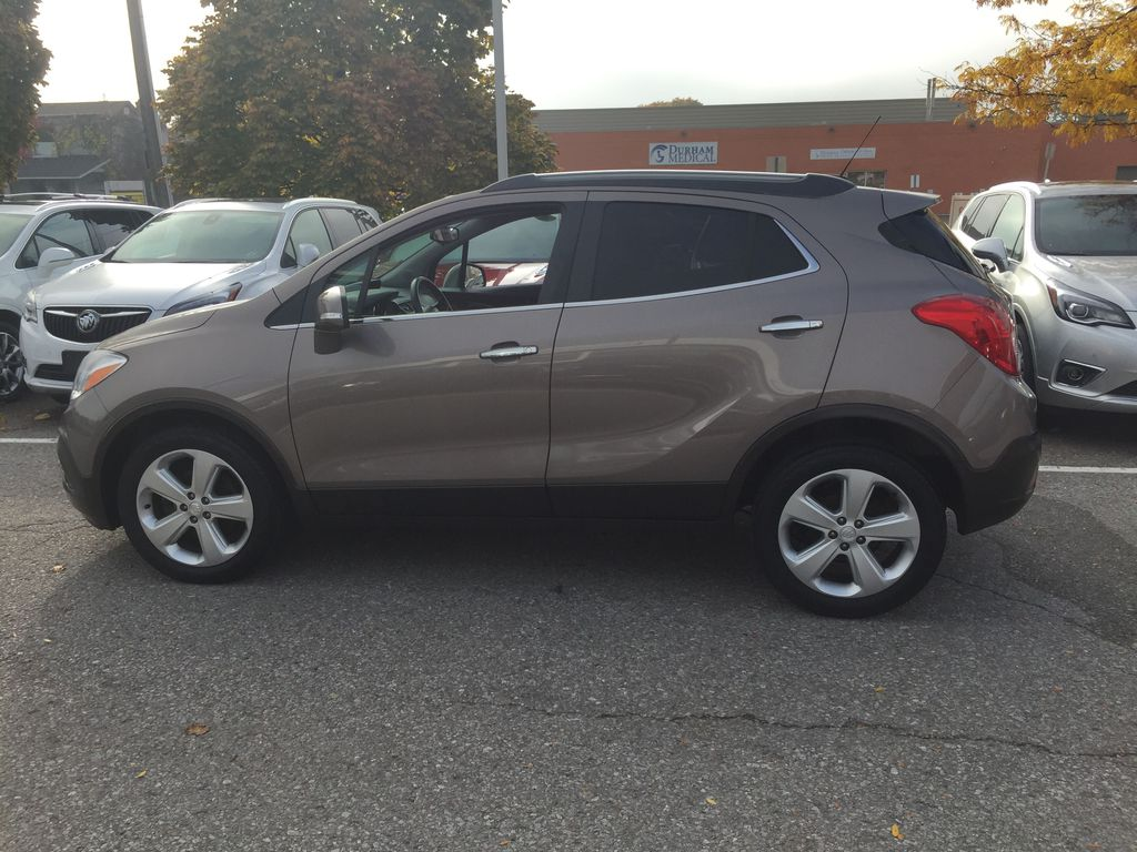 GOLD 2015 Buick Encore Left Side Rear Seat  Photo in Oshawa ON