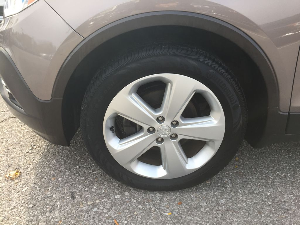 GOLD 2015 Buick Encore Left Front Rim and Tire Photo in Oshawa ON
