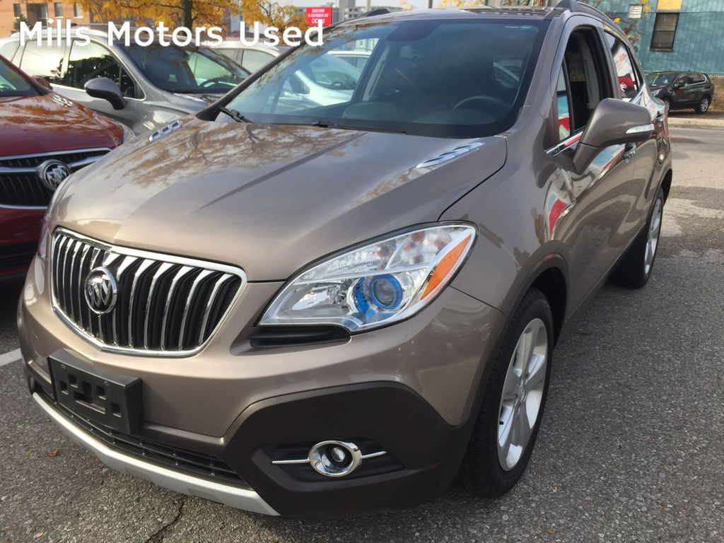 GOLD 2015 Buick Encore
