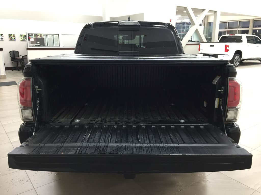 Black[Midnight Black Metallic] 2018 Toyota Tacoma TRD PRO - NO ACCIDENTS - LOW KMS Cargo Area/Rear Seats Photo in Sherwood Park AB