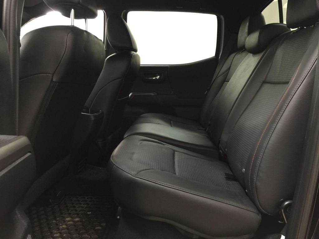 Black[Midnight Black Metallic] 2018 Toyota Tacoma TRD PRO - NO ACCIDENTS - LOW KMS Left Side Rear Seat  Photo in Sherwood Park AB