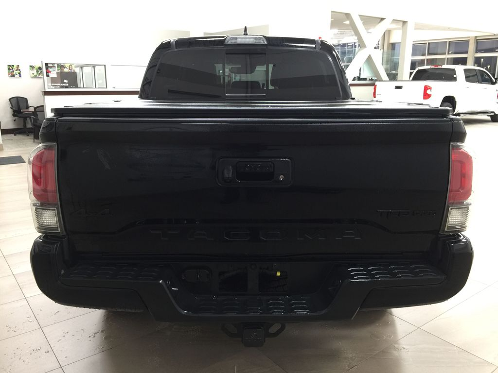 Black[Midnight Black Metallic] 2018 Toyota Tacoma TRD PRO - NO ACCIDENTS - LOW KMS Rear of Vehicle Photo in Sherwood Park AB