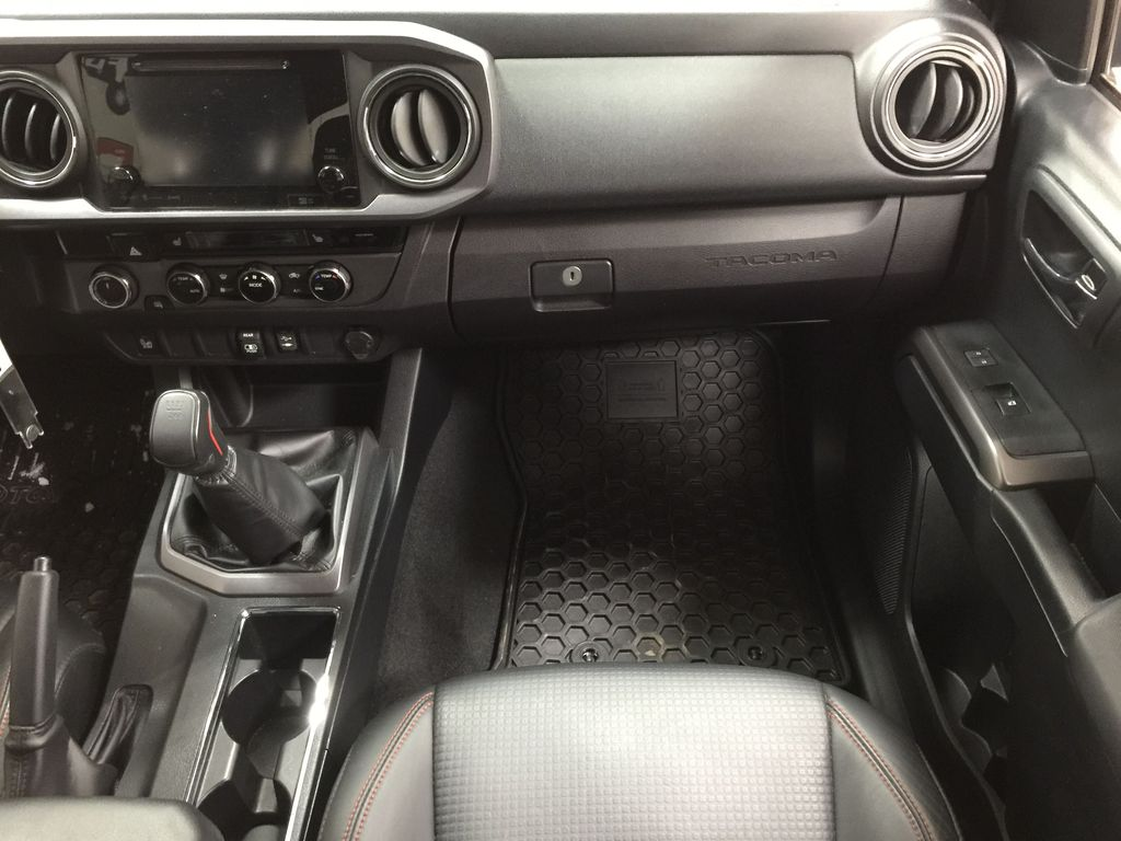 Black[Midnight Black Metallic] 2018 Toyota Tacoma TRD PRO - NO ACCIDENTS - LOW KMS Right Front Seat Photo in Sherwood Park AB