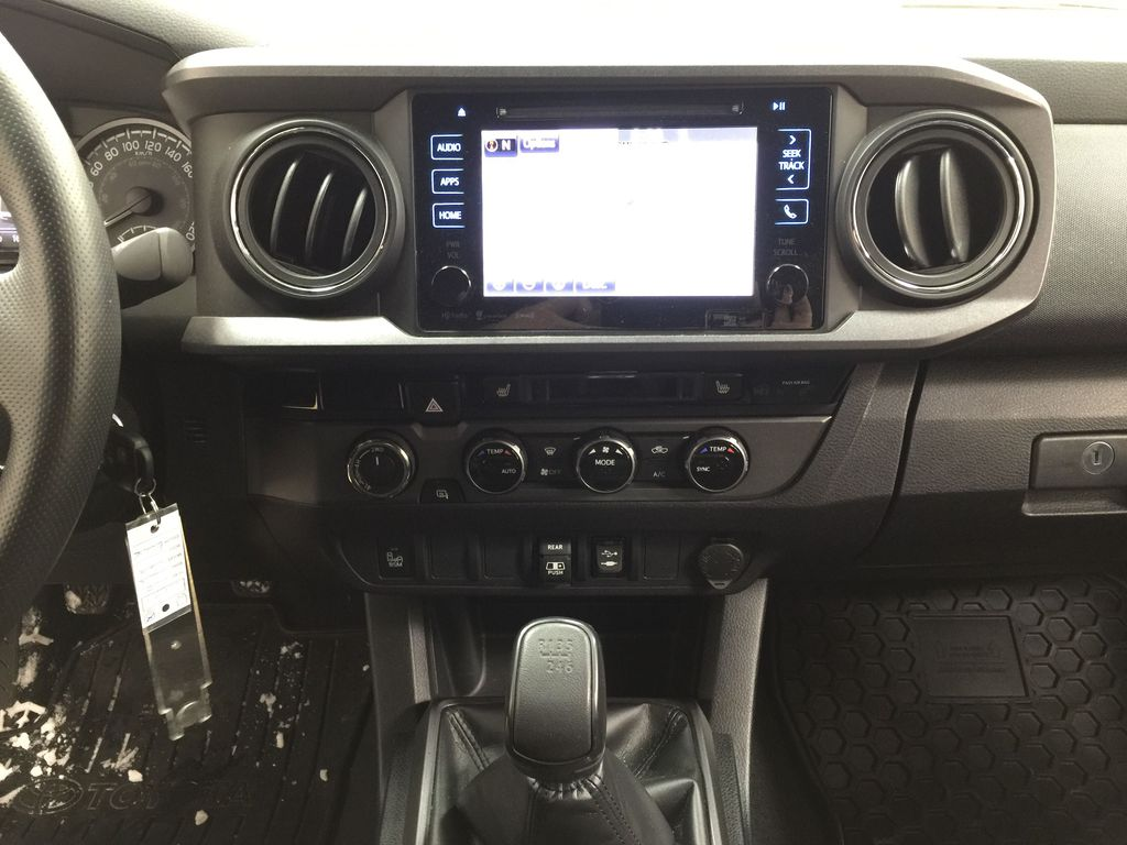 Black[Midnight Black Metallic] 2018 Toyota Tacoma TRD PRO - NO ACCIDENTS - LOW KMS Central Dash Options Photo in Sherwood Park AB