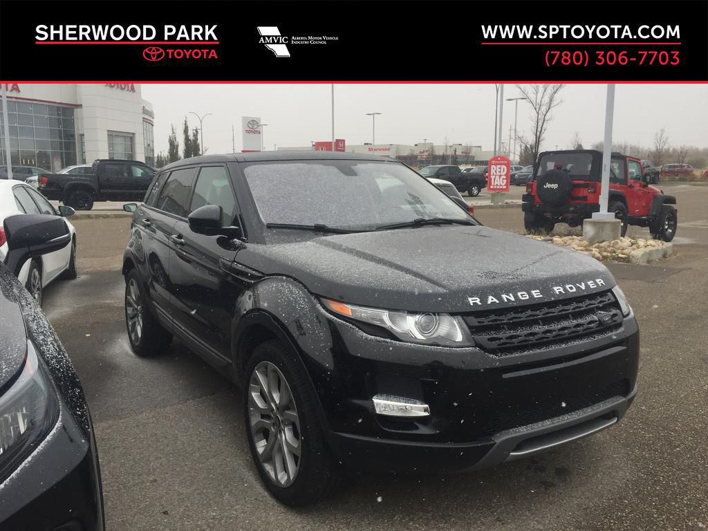 Black[Barolo Black Premium Metallic] 2015 Land Rover Range Rover Evoque