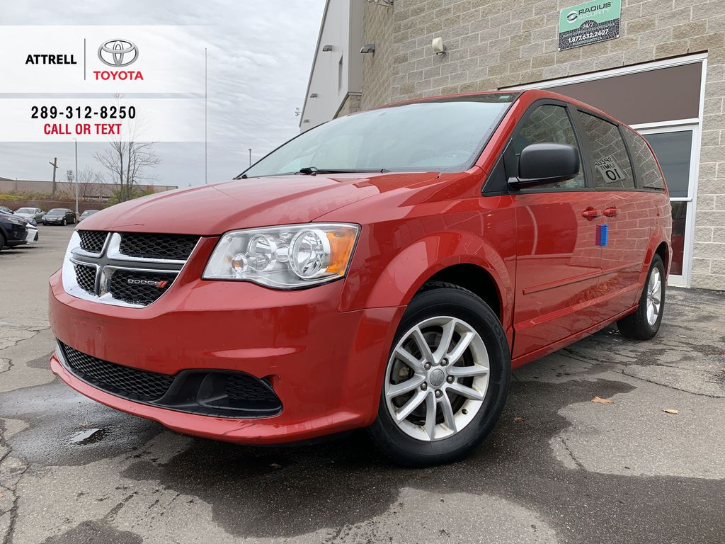 Red[Deep Cherry Red Crystal Pearl] 2016 Dodge Grand Caravan