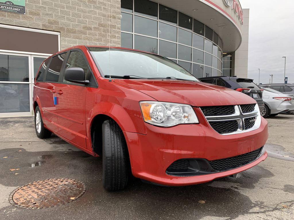 Red[Deep Cherry Red Crystal Pearl] 2016 Dodge Grand Caravan Engine Compartment Photo in Brampton ON