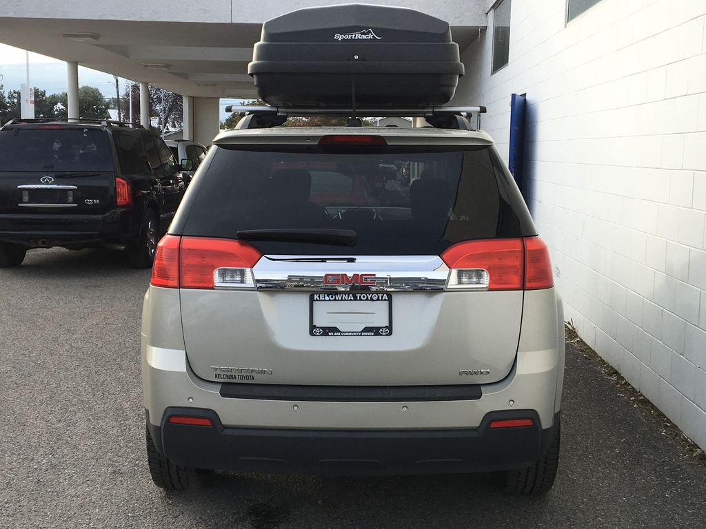 Champagne 2015 GMC Terrain Rear of Vehicle Photo in Kelowna BC