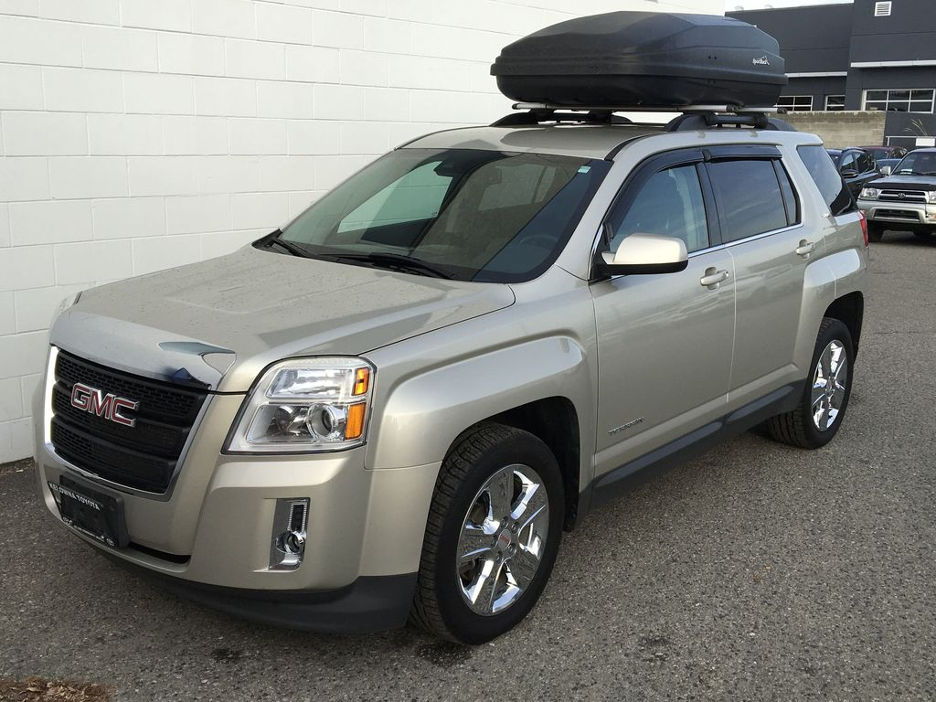 Champagne 2015 GMC Terrain Left Front Corner Photo in Kelowna BC