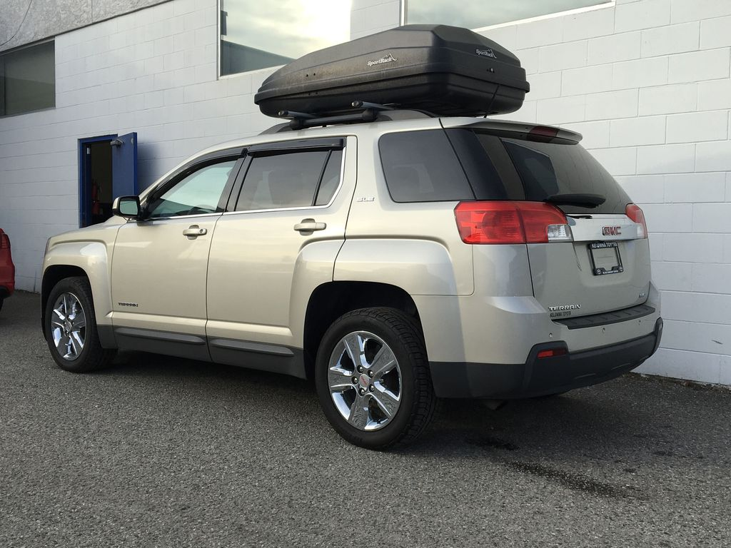 Champagne 2015 GMC Terrain Left Rear Corner Photo in Kelowna BC