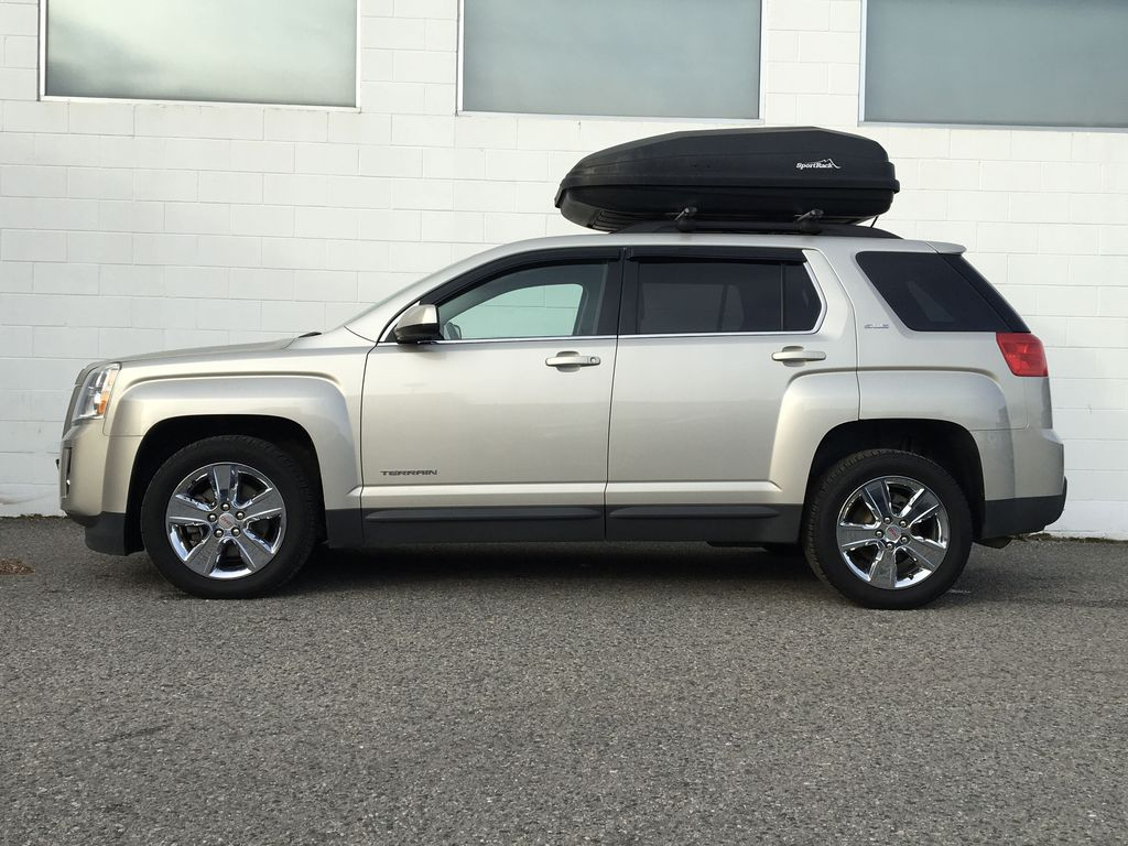 Champagne 2015 GMC Terrain Left Side Photo in Kelowna BC