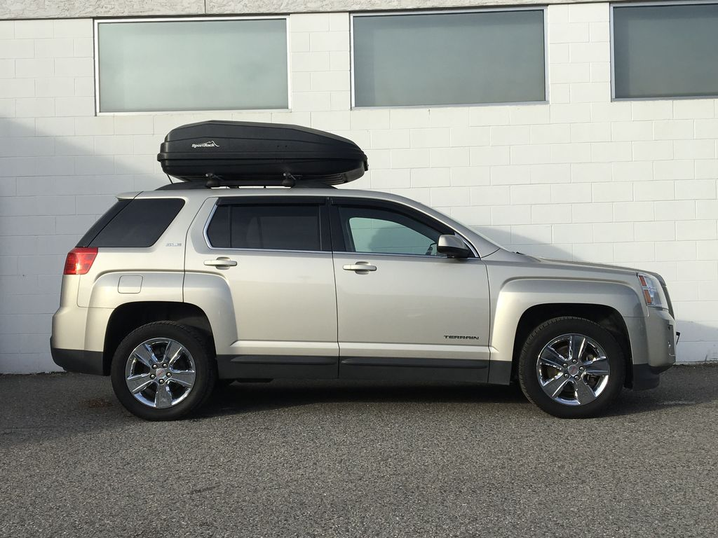 Champagne 2015 GMC Terrain Right Side Photo in Kelowna BC