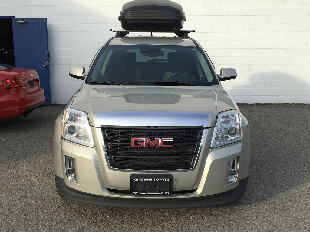 Champagne 2015 GMC Terrain Front Vehicle Photo in Kelowna BC