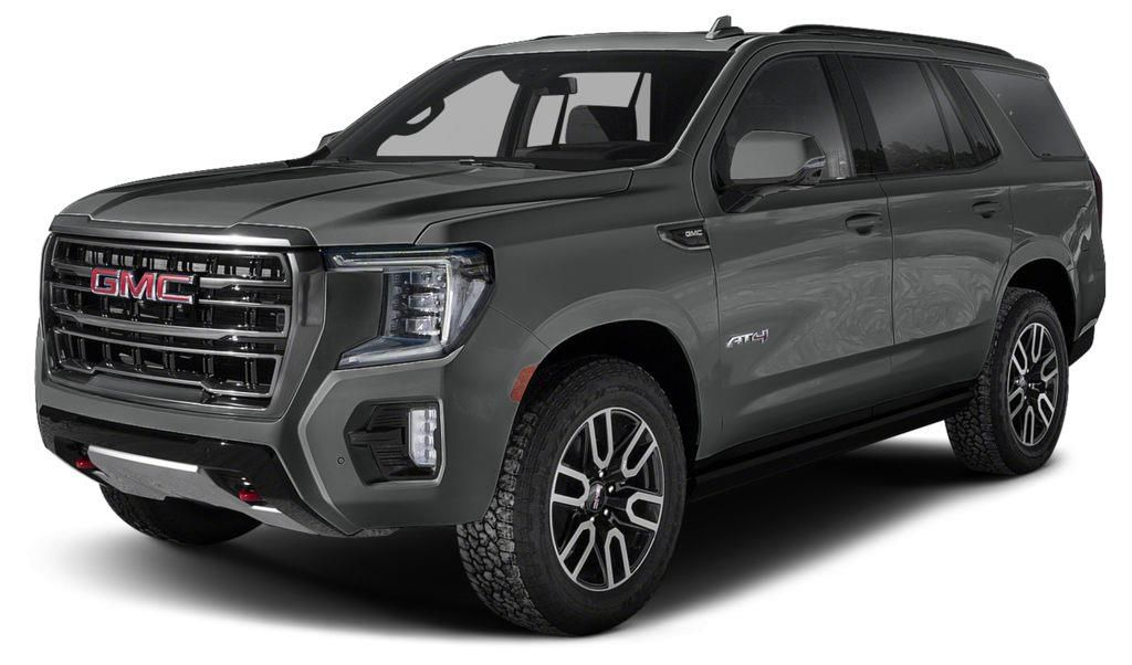 Grey 2021 GMC Yukon