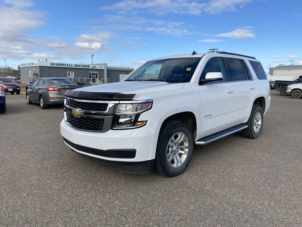 White[Summit White] 2015 Chevrolet Tahoe 4WD 4dr LS *Tow Pkg* *Bluetooth* *Back-Up Cam*