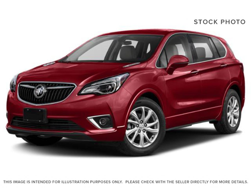 Red[Chili Red Metallic] 2019 Buick Envision